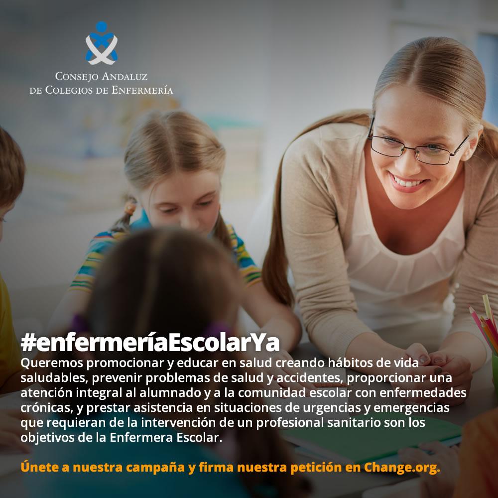 Campaña #enfermeríaEscolarYa